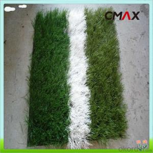 High UV Soccer Artificial Grass Synthetic Turf , Gauge 5/8 50mm