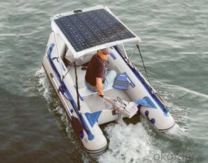 Flexible Solar Panels 80W 100W 120W Patrol Car Solar Panels