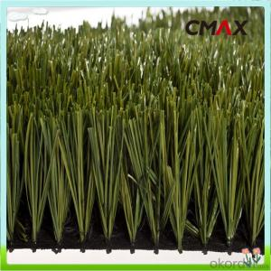 Artificial Grass Synthetic Lawn Turf For Football Filed , Green Color