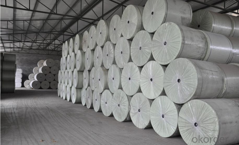 SBS Waterproof Membrane Long Fiber Polyester Non Woven Mat