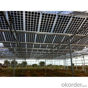 BIPV Solar Panels 50w 100W 120W Patrol Car Solar Panels