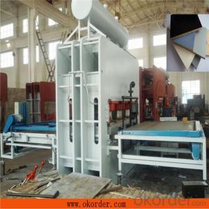 Automatic Melamine Core-board Plate Hot Press Machine