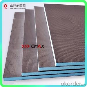 XPS Tile Backer Board Brands Underfloor Heating Insulation Board