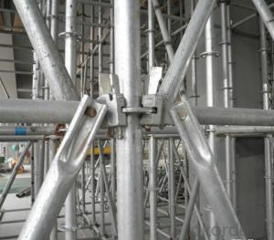 Ring-lock Scaffolding Used for High Rise Project