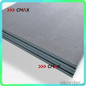 Light weighted durable compressed xps tile backer board