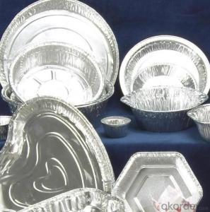 Household Aluminium Foil for Baking, SGS TUV FDA certificate