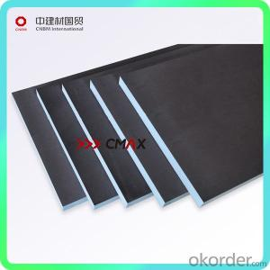 insulation and waterproof tile backer board
