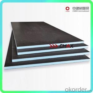 xps tile backer board lightweight fireproof from CNBM
