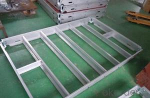 Aluminum-Frame Formwork with Excellent Quality and Effective Applications