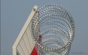 Galvanized Concertina Razor Barbed Wire (BTO-22)