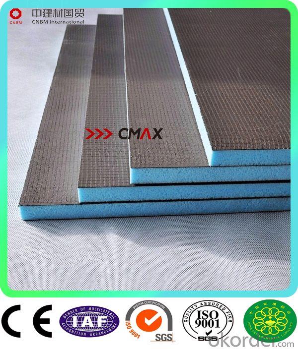 XPS Tile Backer Board for Shower Room in Europe CNBM Group