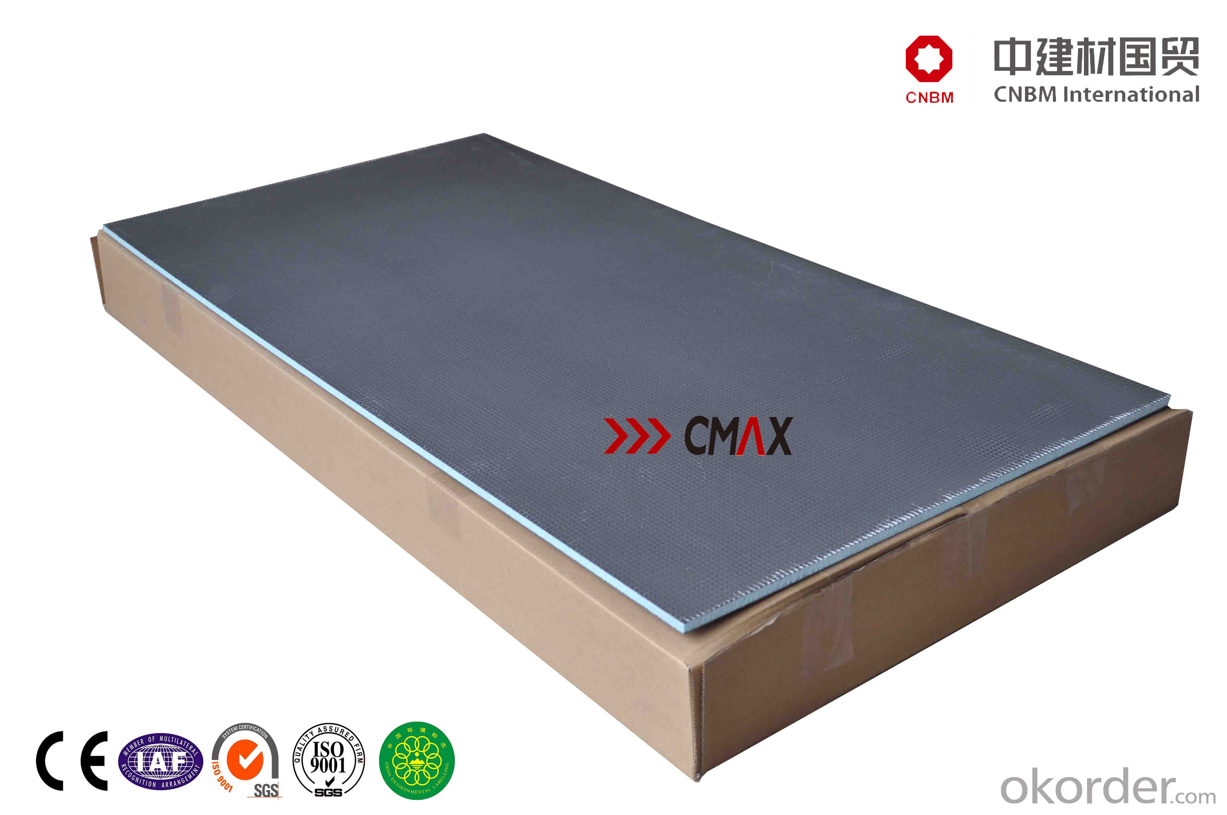 Cementitious Backer Board : Buy flexible cement board for shower room cnbm group price