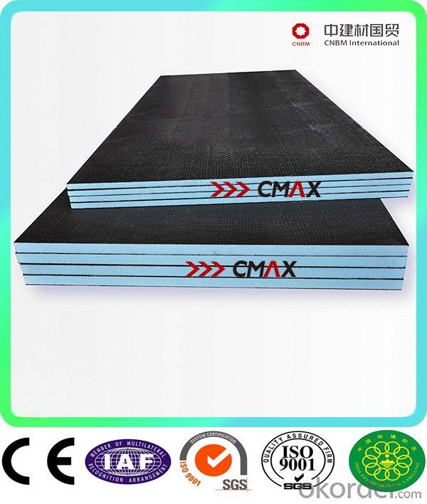 xps extruded polystyrene tile backer board for Shower Room CNBM Group