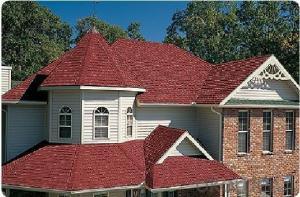 Double Classic Colorful Fiberglass Asphalt Shingle