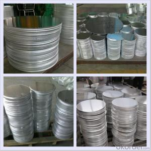 Deep Drawing CC Aluminum Circle Sheet for Pans