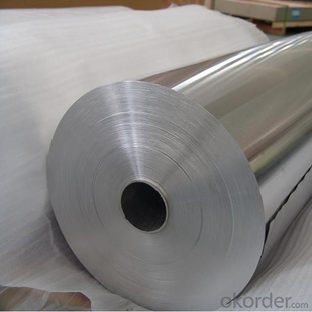 Aluminum Silver Foil Warp 8011 10 micron Aluminum Foil made in China