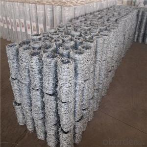 Galvanized Barbed Wire (BWG12*14, BWG16*16)2.0mm Diamter Barbed Wire&ISO 9001 (XA-BW002)