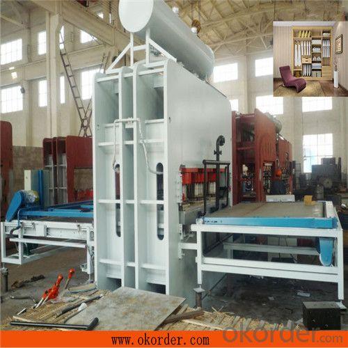Short Cycle Melamine Paper Press Machine