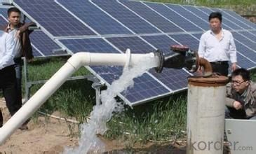 Solar Water Pump System 0.1KW-37KW for Agricultural Irrigation/ Helen