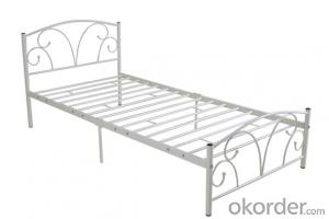 Metal Bed European Style Model CMAX-MB008