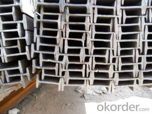 Hot Rolled Steel I Beams for steel structure from China