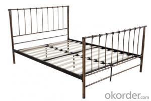 Metal Bed European Style Model CMAX-MB012