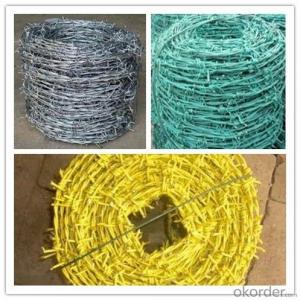 Heavy Zinc Coating Barbed Wire High Quality Hot DIP Galvanized Barbed Wire For Sale