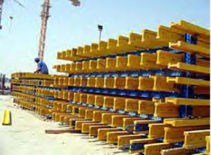 Timber Beam Formwork of Building for Construction
