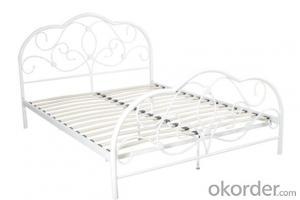 Metal Bed European Style Model CMAX-MB014