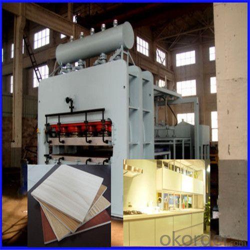 Particel Board Wood Decorative Furniture Moulding Machine