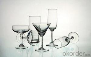 Wine Glassware Glass, Drinking Glass Stem Crystal Glassware for Wine