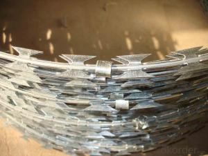 Razor Wire Fence/Razor Barbed Wire ISO Factory