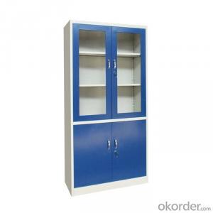 Steel Filing Cabinet with Glass Swing Door  Steel Office Furniture CMXA-FC02