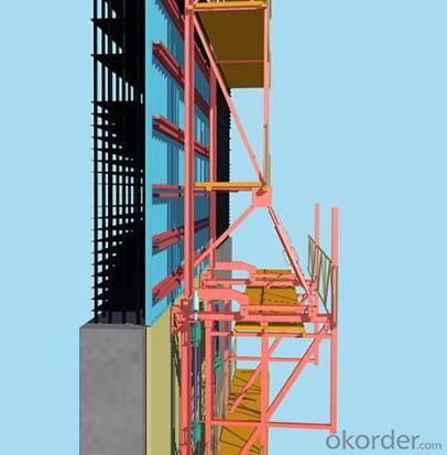 Hydraulic system with Auto-climbing Formwork from China