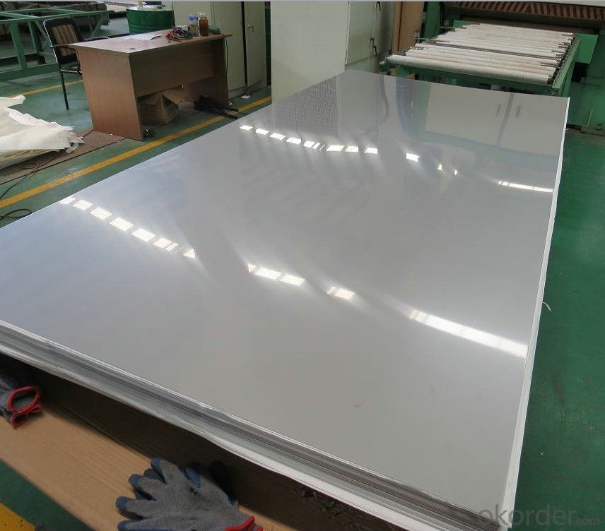 SGS certification 304 stainless steel sheet in wuxi