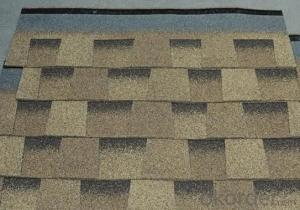 Europe Style Roma Design Asphalt Roof Shingles