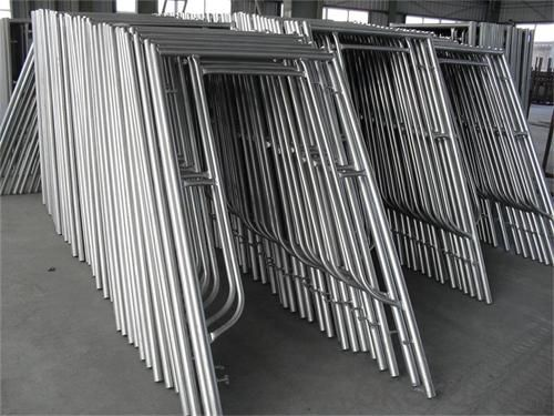 Frame Scaffolding for housing building in construction