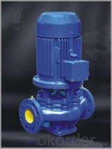 Cast Aluminum Vertical Pipeline Water Centrifugal Pump Low Pressure