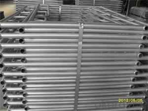 Painted H Frame Scaffolding for Formwork