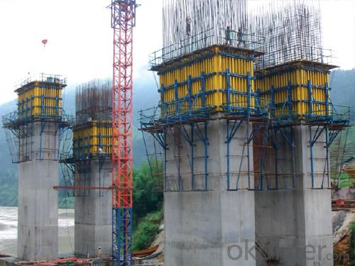 Hydraulic system with Auto-climbing Formwork for construction