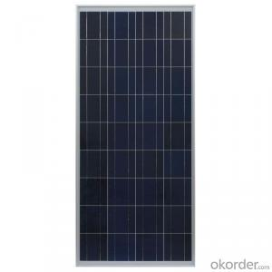 High Power 140W Poly Solar Panel for House Roof