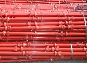 Painted Cup-lock Scaffolding for Supporting Formwork Pouring Concrete from China