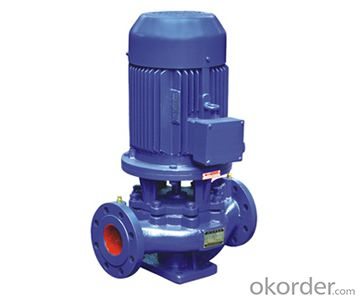 Vertical Pipeline Water Centrifugal Pump Low Pressure
