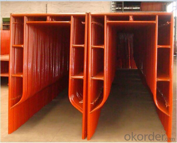 Painted H Frame Scaffolding Size Hight quality  for Formwork