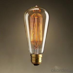 Vintage Edison Led Bulb Lights UL/CE Certification