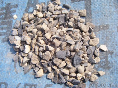 88% of 3-5mm Calcined Bauxite  for Refractory Product