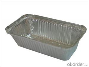 Aluminum Foil Food Container for Airline Service household foil