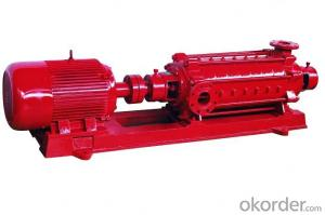 Fire Pump Red Electric High Pressure Pump