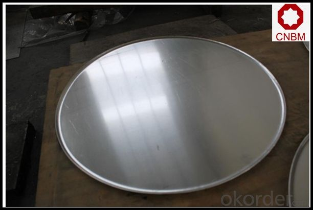 Hot rolled Aluminum Circle/Disc A1050 1060 O H12 for Cookware