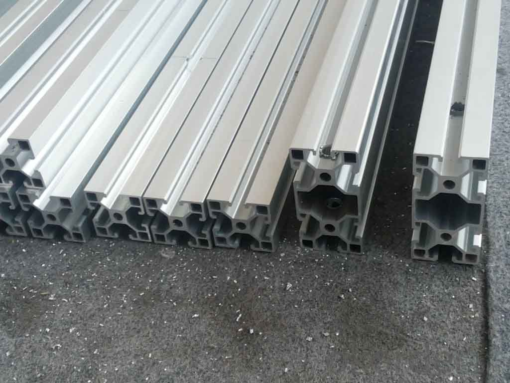 Shower Room OEM Aluminum Extrusion for high voltage Switchgear